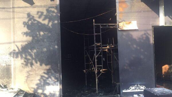 Hiện trường quán nhậu bị cháy khiến 6 người chết - Sputnik Việt Nam
