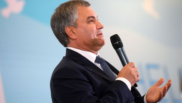 Chủ tịch Duma Quốc gia Vyacheslav Volodin - Sputnik Việt Nam
