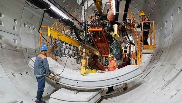 'Độn thổ' xuống đường hầm Metro đầu tiên do 'siêu robot' đào ngay trung tâm TP.HCM - Sputnik Việt Nam