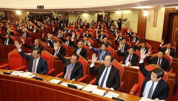 Khai mạc Hội nghị lần thứ chín Ban Chấp hành Trung ương Đảng Cộng sản Việt Nam khóa XII - Sputnik Việt Nam