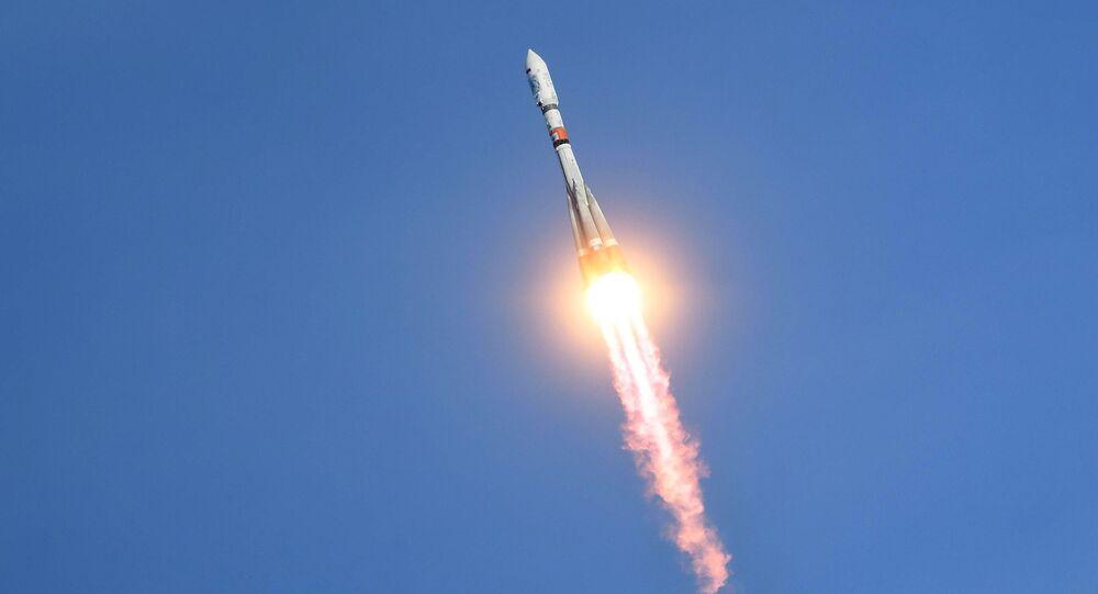 """Phóng tên lửa """"Soyuz-2.1a"""" từ sân bay vũ trụ Vostochny"""