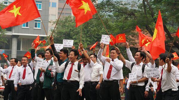 Grab phải bồi thường cho Vinasun 4,8 tỷ đồng, lái xe Vinasun ăn mừng - Sputnik Việt Nam