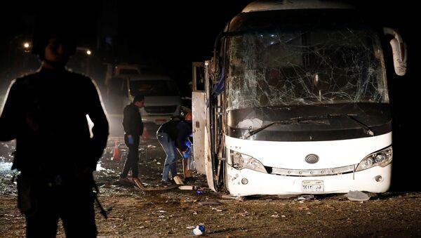 Vụ nổ xe buýt ở Cairo - Sputnik Việt Nam