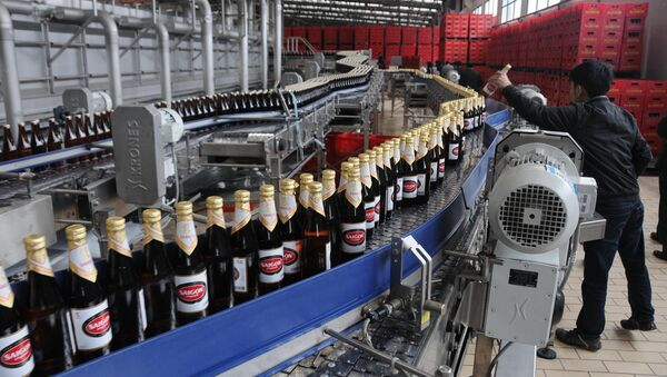 Nhà máy sản xuất bia Sài gòn- Sabeco - Sputnik Việt Nam
