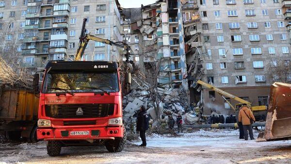 Nổ khí ga trong chung cư ở Magnitogorsk - Sputnik Việt Nam