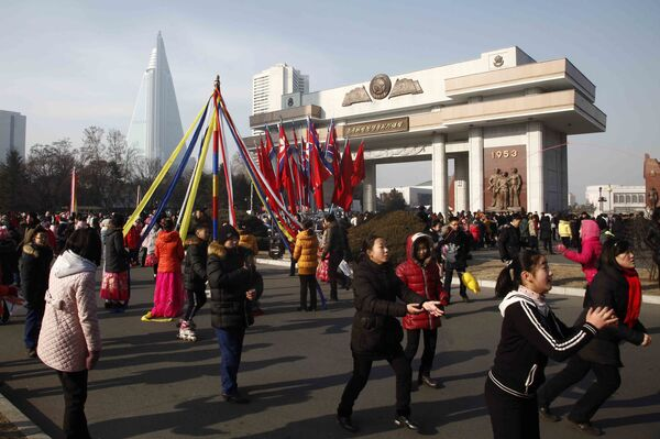 Ngày đầu tiên của Năm Mới ở Bình Nhưỡng - Sputnik Việt Nam
