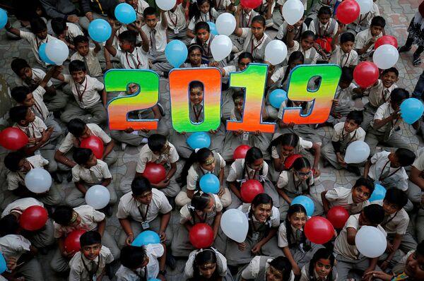Học sinh Ấn Độ trước thềm Năm Mới - Sputnik Việt Nam