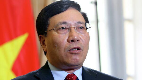 Phó Thủ tướng, Bộ trưởng Ngoại giao Phạm Bình Minh. - Sputnik Việt Nam