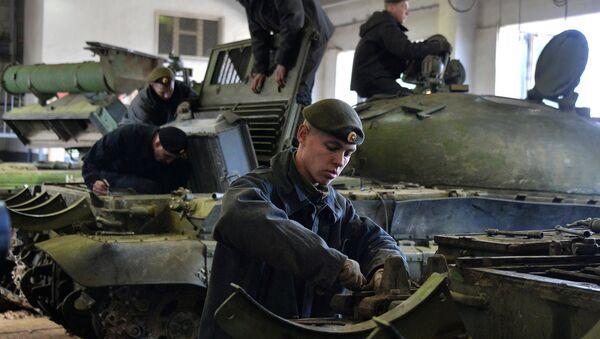 Kiểm tra kỹ thuật xe tăng - Sputnik Việt Nam