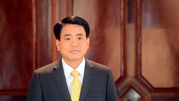 Chủ tịch UBND TP Hà Nội Nguyễn Đức Chung - Sputnik Việt Nam