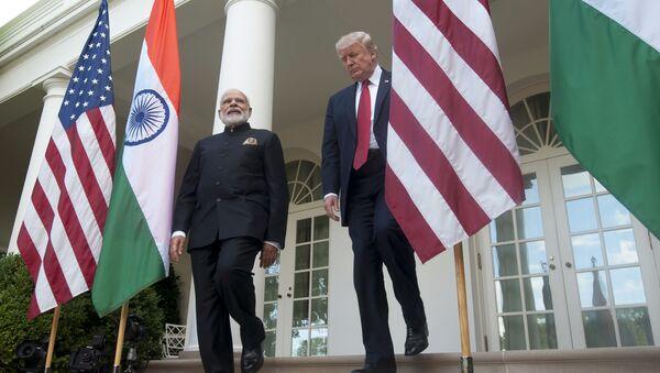 Narendra Modi và Donald Trump - Sputnik Việt Nam