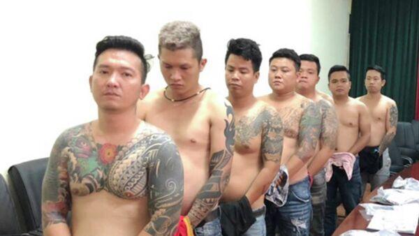 Bộ Công an đánh sập băng nhóm giang hồ Vũ bông hồng ở Sài Gòn - Sputnik Việt Nam