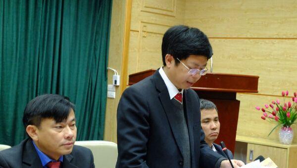 Th.BS Nguyễn Trọng Khoa, Phó Cục trưởng Cục Khám chữa bệnh (Bộ Y tế) - Sputnik Việt Nam