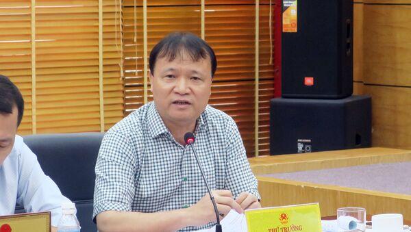 Ông Đỗ Thắng Hải, Thứ trưởng Bộ Công thương - Sputnik Việt Nam