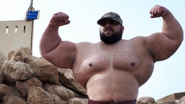 «Hulk» Sajjad Gharibi của Iran - Sputnik Việt Nam