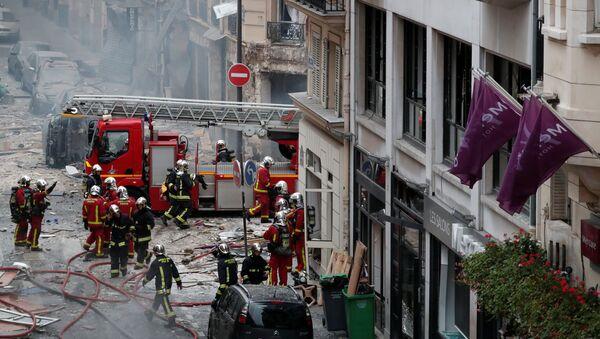 Một vụ nổ mạnh xảy ra ở Paris - Sputnik Việt Nam