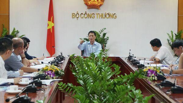 Bộ Công Thương, Bộ trưởng Trần Tuấn Anh - Sputnik Việt Nam