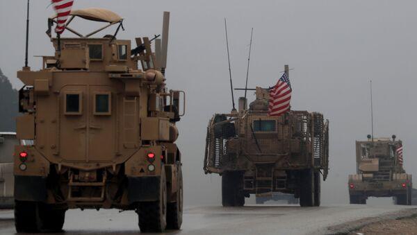 Binh sĩ Mỹ tại Syria - Sputnik Việt Nam
