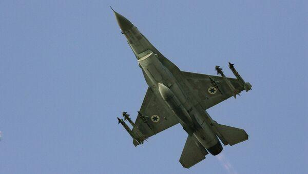 Истребитель F-16 израильских ВВС. Архивное фото - Sputnik Việt Nam