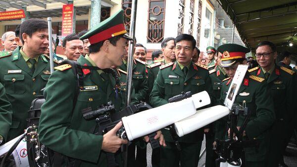 Súng bắn máy bay không người lái (UAV) do Việt Nam chế tạo - Sputnik Việt Nam