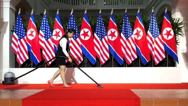 Bắc Triều Tiên và  Mỹ - Sputnik Việt Nam