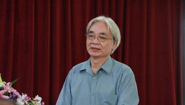 GS.TS. Nguyễn Văn Lợi ủng hộ luật Ngôn ngữ Việt Nam. - Sputnik Việt Nam