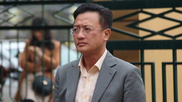 Bị cáo Đỗ Anh Tuấn tại tòa. - Sputnik Việt Nam