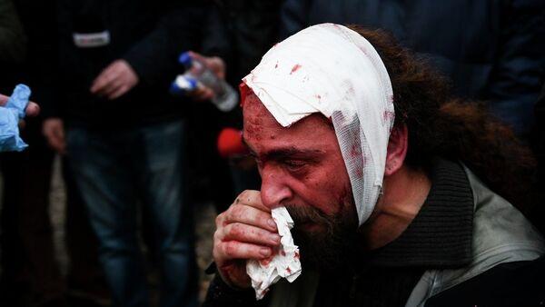Một cộng tác viên của Sputnik bị thương trong cuộc biểu tình ở Athens - Sputnik Việt Nam