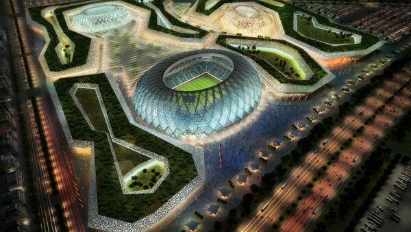 Dự án sân vận động Al Wakrah, Qatar - Sputnik Việt Nam