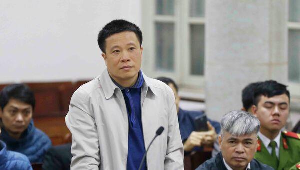 Bị án Hà Văn Thắm, nguyên Chủ tịch HĐQT Ngân hàng Đại Dương – Oceanbank, người có trách nhiệm liên quan được triệu tập đến tòa. - Sputnik Việt Nam