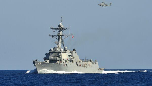 Tàu khu trục tên lửa Hải quân Hoa Kỳ Gravely - Sputnik Việt Nam