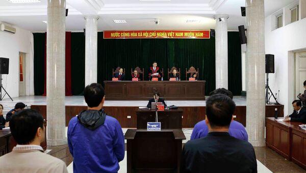 Quang cảnh phiên tuyên án. - Sputnik Việt Nam