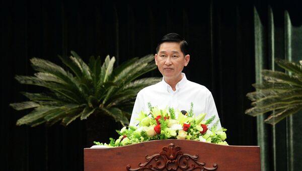 Ông Trần Vĩnh Tuyến, Phó Chủ tịch UBND Thành phố - Sputnik Việt Nam