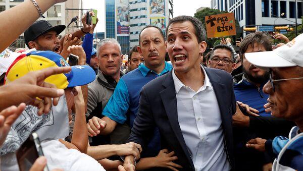 Người đứng đầu Quốc hội đối lập Venezuela Juan Guaido - Sputnik Việt Nam