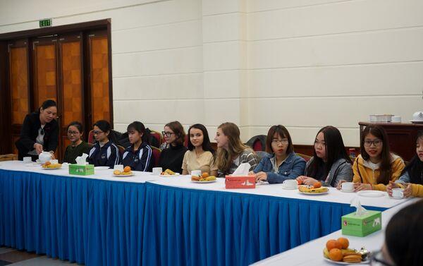Ngày sinh viên tại Trung tâm Văn hóa-Khoa học Nga ở Hà Nội - Sputnik Việt Nam