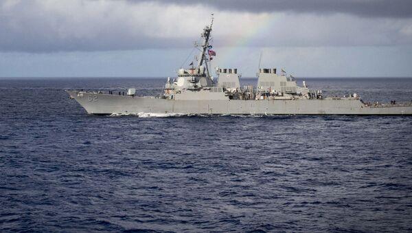 Tàu khu trục tên lửa USS McCampbell lớp Arleigh Burke - Sputnik Việt Nam