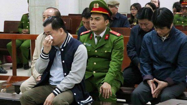 Bị cáo Phan Văn Anh Vũ tại phiên tòa. - Sputnik Việt Nam