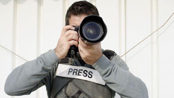 Nhà báo - Sputnik Việt Nam