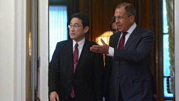 Sergei Lavrov và Fumio Kishida - Sputnik Việt Nam