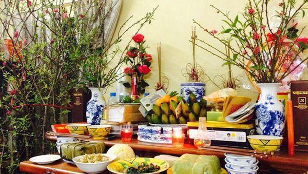 Vì sao cúng giao thừa là lễ quan trọng nhất Tết Nguyên đán? - Sputnik Việt Nam