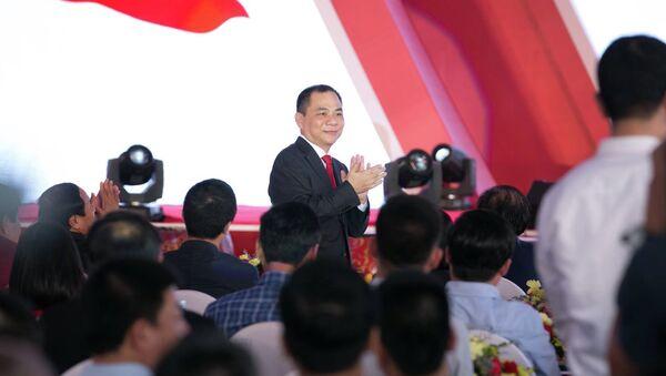 Ông Phạm Nhật Vượng đã chính thức ghi tên VinFast vào bản đồ ngành công nghiệp ô tô toàn cầu - Sputnik Việt Nam
