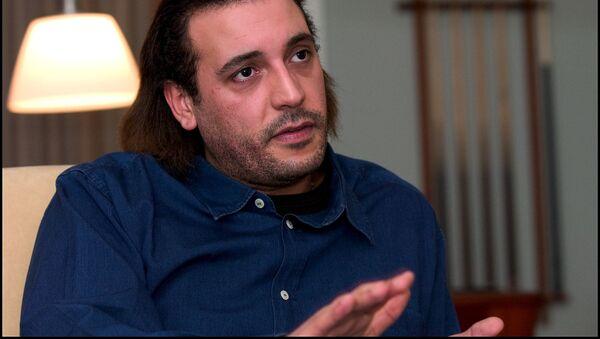 Сын бывшего ливийского лидера Муаммара Каддафи Ганнибал Каддафи - Sputnik Việt Nam