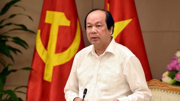 Bộ trưởng, Chủ nhiệm VPCP Mai Tiến Dũng, Tổ trưởng Tổ công tác của Thủ tướng - Sputnik Việt Nam