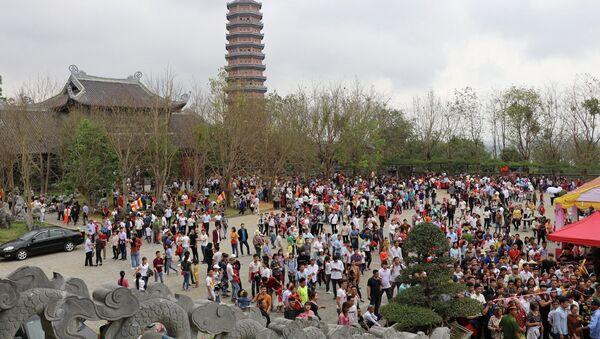 Ninh Bình: Khai mạc Lễ hội chùa Bái Đính - Xuân Kỷ Hợi 2019 - Sputnik Việt Nam