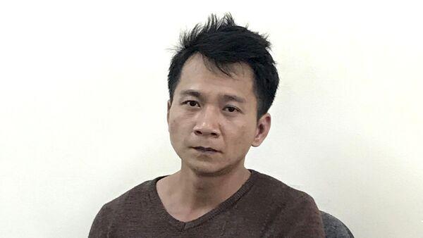 Đối tượng Vương Văn Hùng bị bắt giữ. - Sputnik Việt Nam