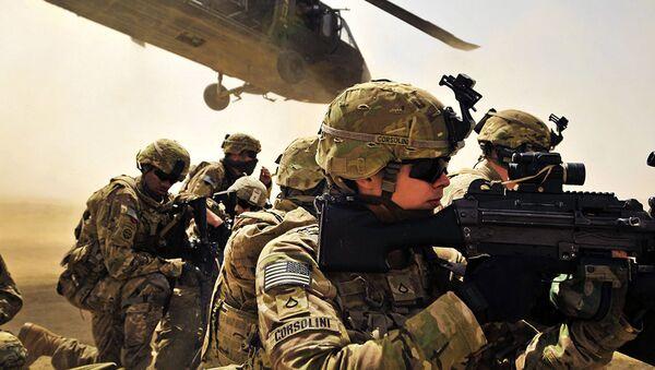 Quân nhân Hoa Kỳ tại Afghanistan - Sputnik Việt Nam