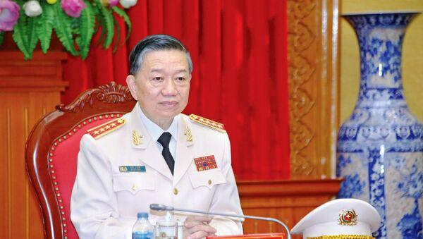 Đại tướng GS.TS Tô Lâm, Bộ trưởng Bộ Công an - Sputnik Việt Nam