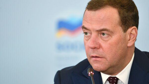 Thủ tướng Nga Dmitry Medvedev - Sputnik Việt Nam