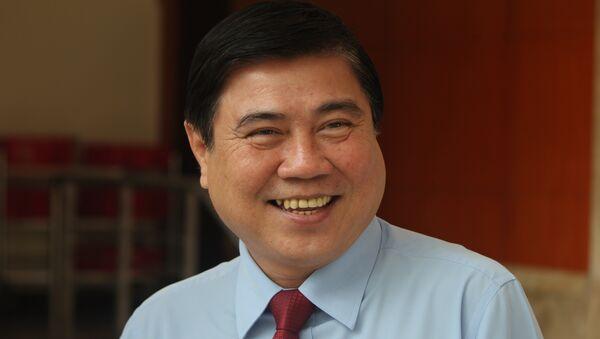 Ông Nguyễn Thành Phong, Ủy viên Trung ương Đảng, Phó Bí thư Thành ủy đã trúng cử chức danh chủ tịch UBND TP.HCM.  - Sputnik Việt Nam