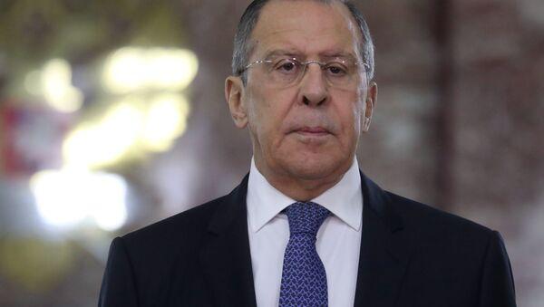 Bộ trưởng Ngoại giao Nga, ông Vladimir Lavrov - Sputnik Việt Nam